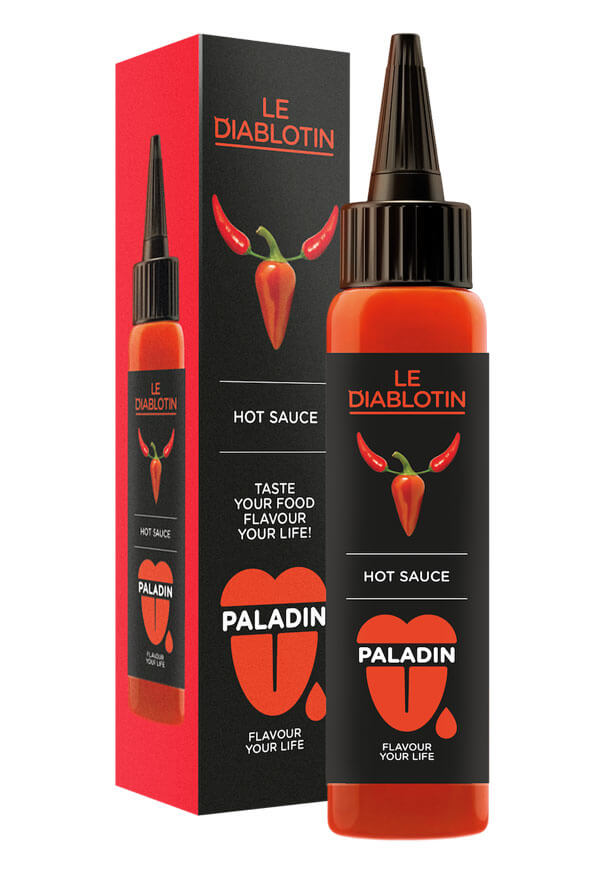 Paladin hot chilli sauce soul food