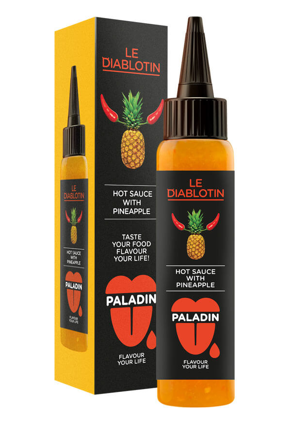 Paladin hot chilli sauce with pineapple