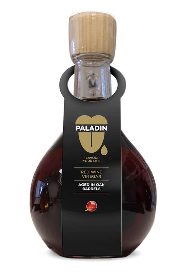 paladin red wine vinegar aged in oak barrels