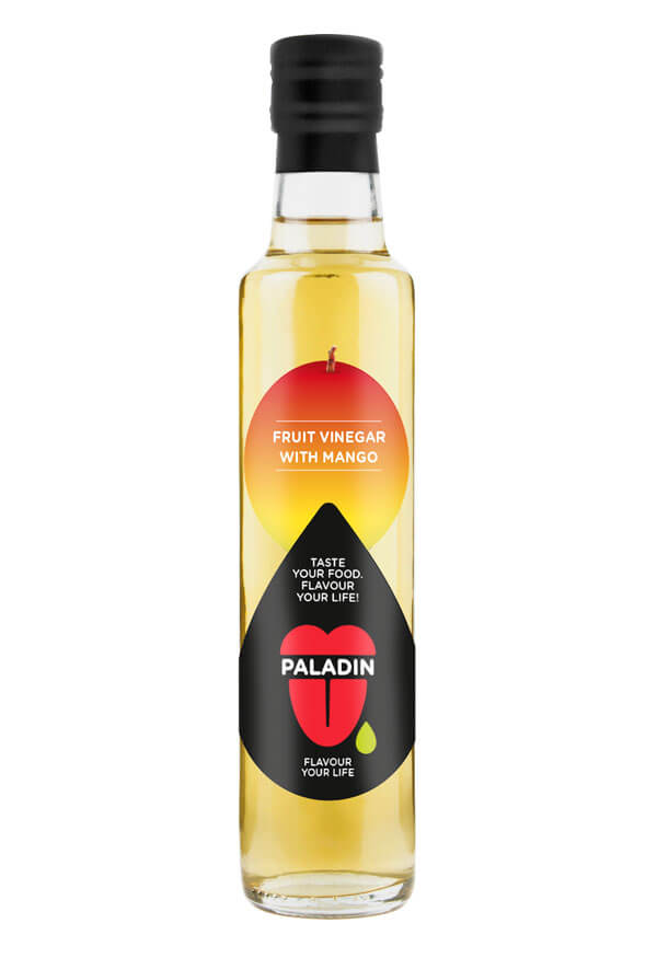 Paladin organic fruit vinegar with mango