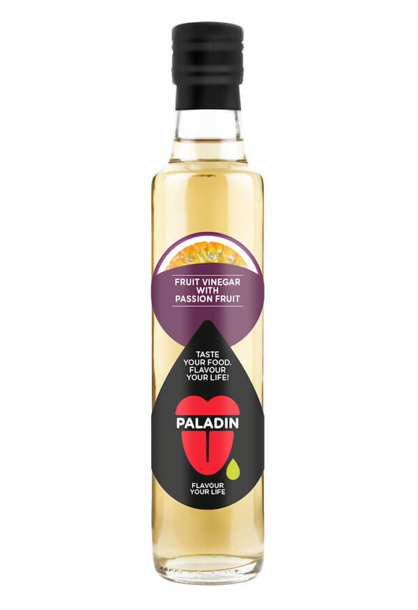 Paladin organic fruit vinegar with passion fruit