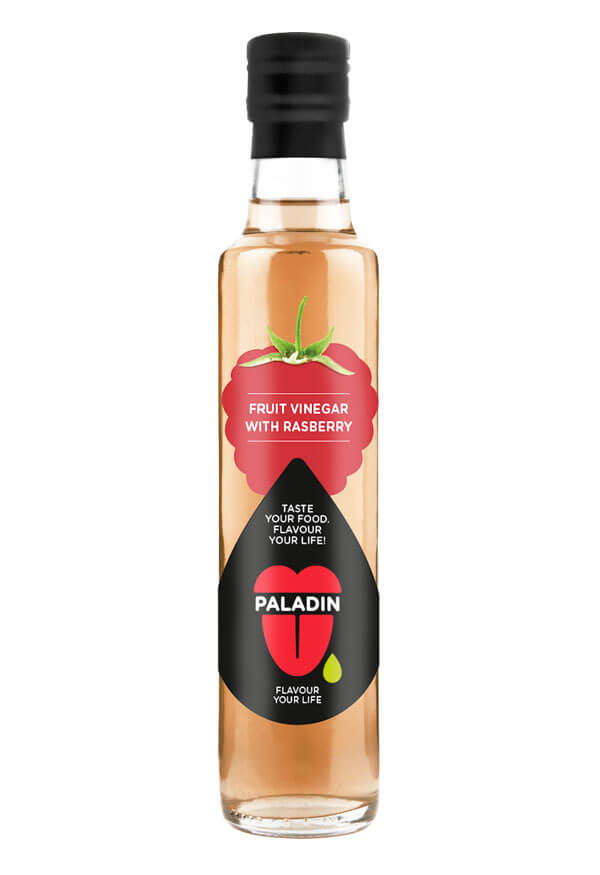 Paladin organic fruit vinegar with raspberry