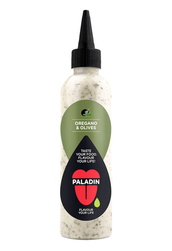 Paladin oregano and olives dressing